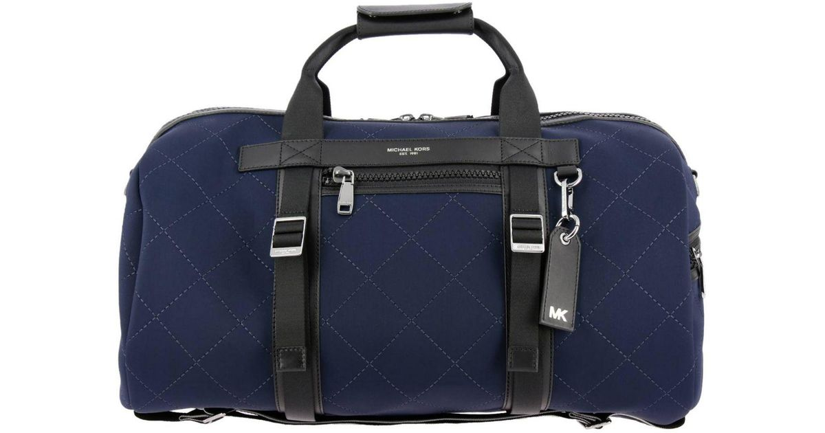 1568f58a5d35a7 ... where can i buy michael kors bags men in blue for men lyst c6e87 5872d