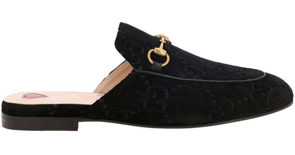 Gucci Black Ballet Flats Shoes Women