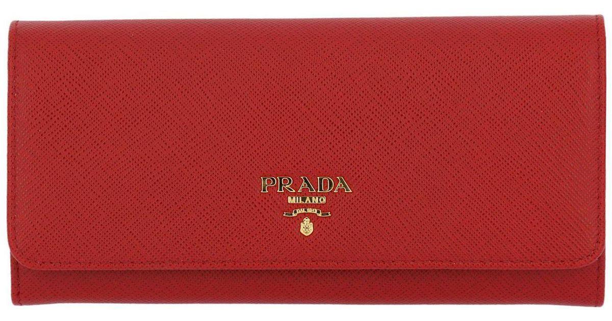 540a2e1610 Prada Red Women's Wallet