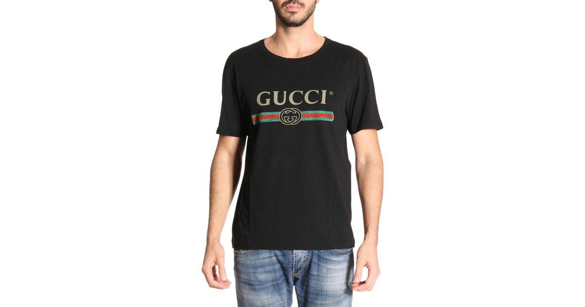 Gucci Black T,shirt Men for men