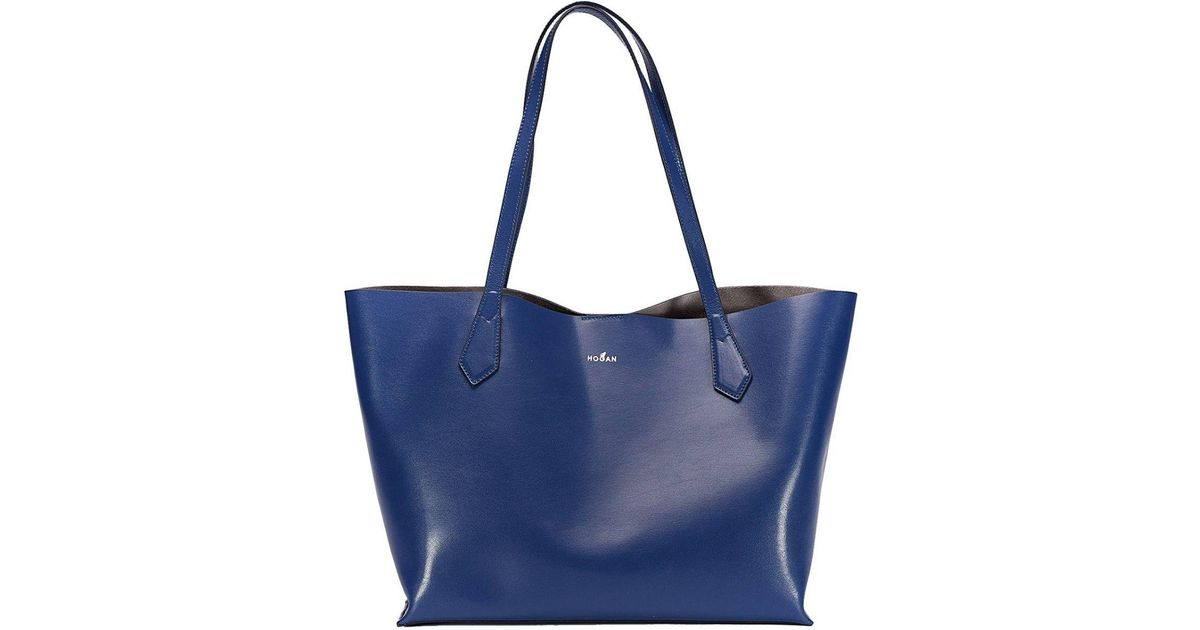 Lyst - Hogan Shoulder Bag Women in Blue 0cb9d3dfd9b60