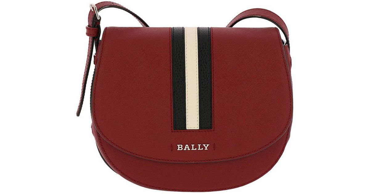 Bally Red Crossbody Bags Shoulder Bag Women
