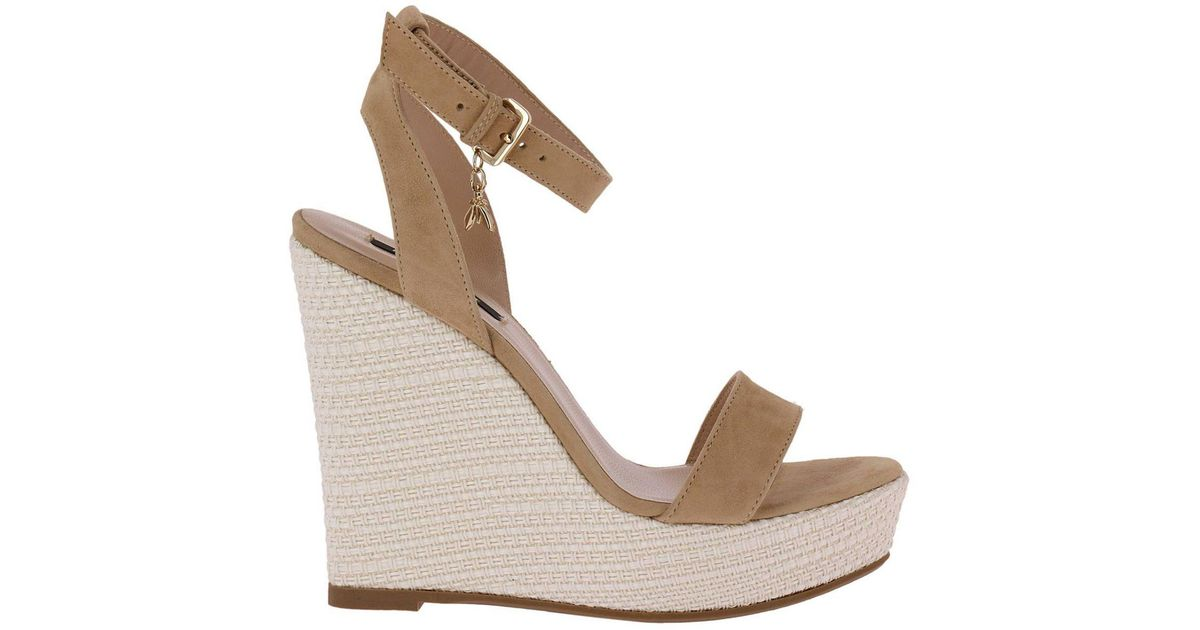 578f6787852 Patrizia Pepe Natural Wedge Shoes Shoes Women
