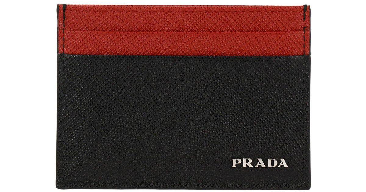 869fcb44682d australia prada wallet men prada wallets online on yoox finland 46608334hr  c8a59 2c044; denmark lyst prada wallet men in black for men f2d69 19550