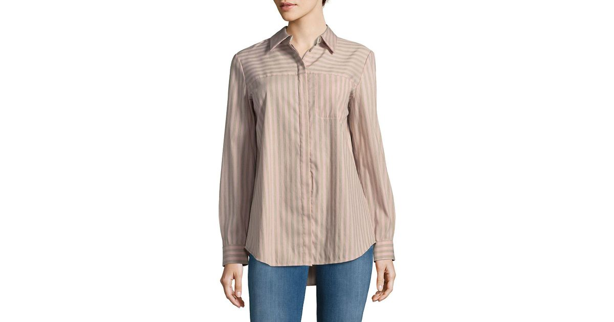 14e2be84 Lafayette 148 New York Brody Button-down Shirt - Save 21% - Lyst