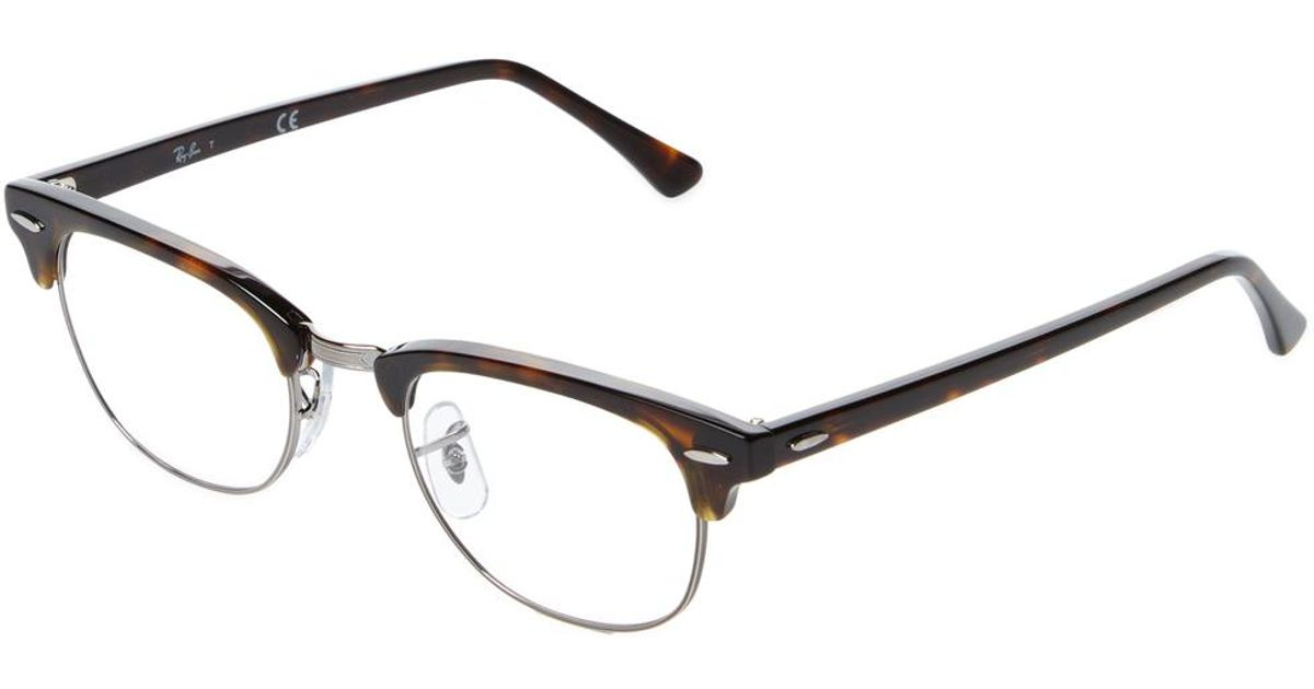 Lyst - Ray-Ban Clubmaster Optical Frame