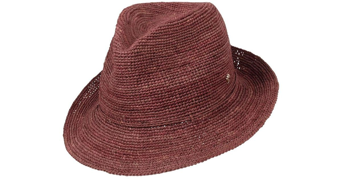 115bb9c07 Helen Kaminski Multicolor Fai Hat