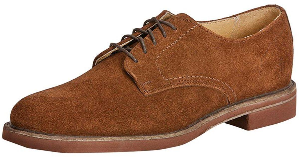 fa30eb1f8 Frye Jim Derby Shoe in Brown for Men - Lyst