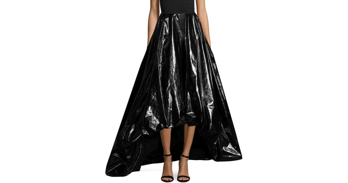 Lyst Monse High Low Ballgown Skirt In Black