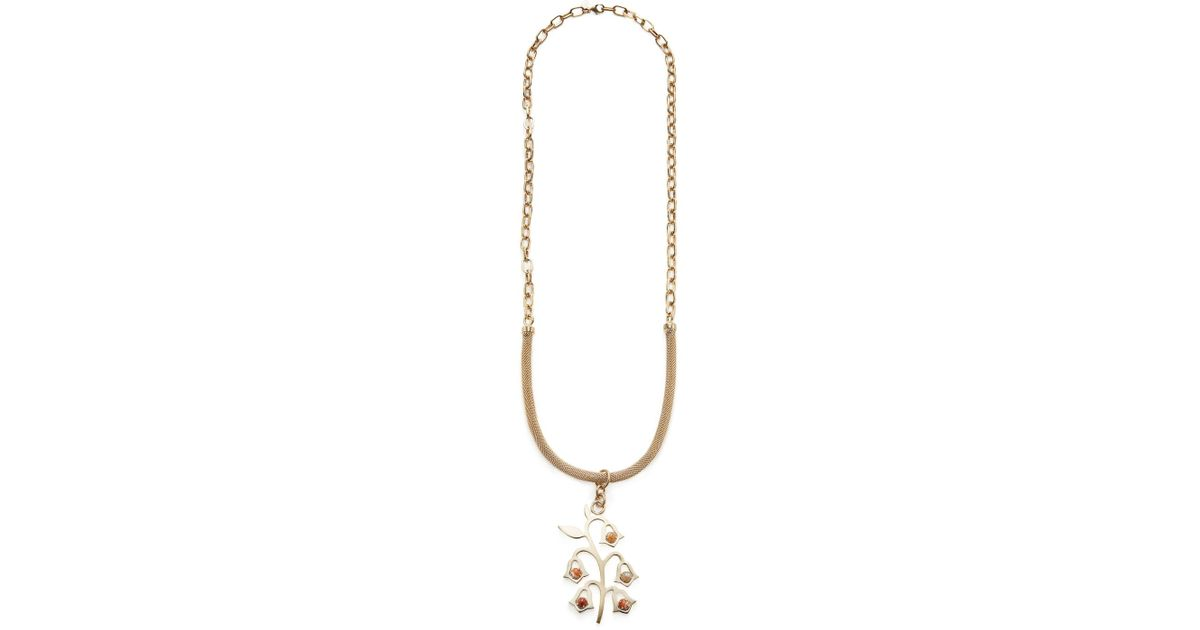 Red Valentino wings and arrow shaped necklace - Metallic rpPPK