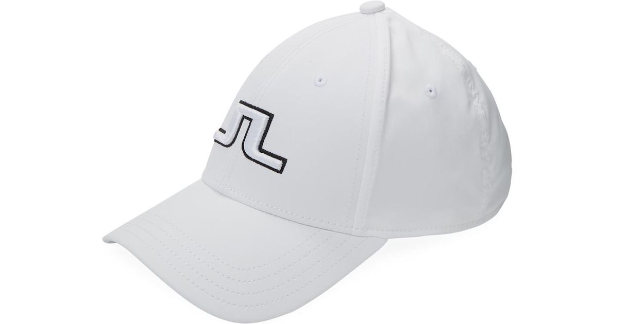 ead349ef88d Lyst - J.Lindeberg Angus Cap Tech Stretch in White for Men