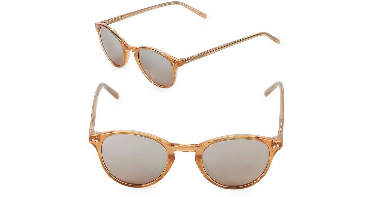 Vera Wang Womens 46Mm Round Sunglasses