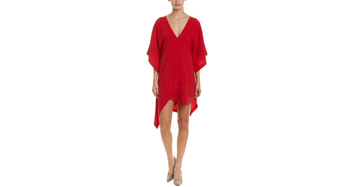 70646c948b8 Lyst - IRO Ekima Shift Dress in Red - Save 1%