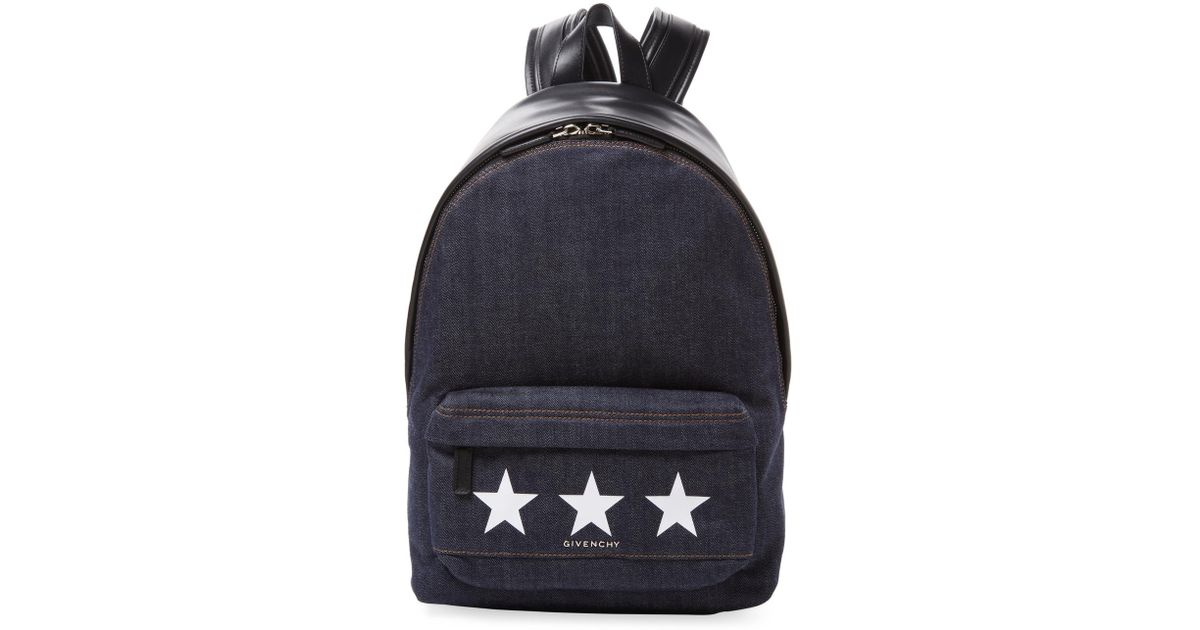 Black Small Quilted Star Backpack Stella McCartney ByhTio