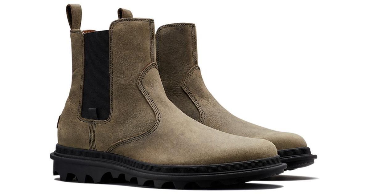 Sorel Leather Ace Chelsea Tyche Wp in