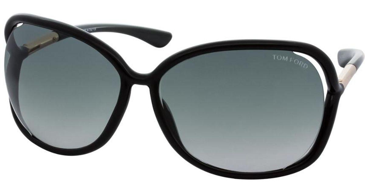 2a34c4421c Lyst - Tom Ford Raquel 63mm Sunglasses in Black