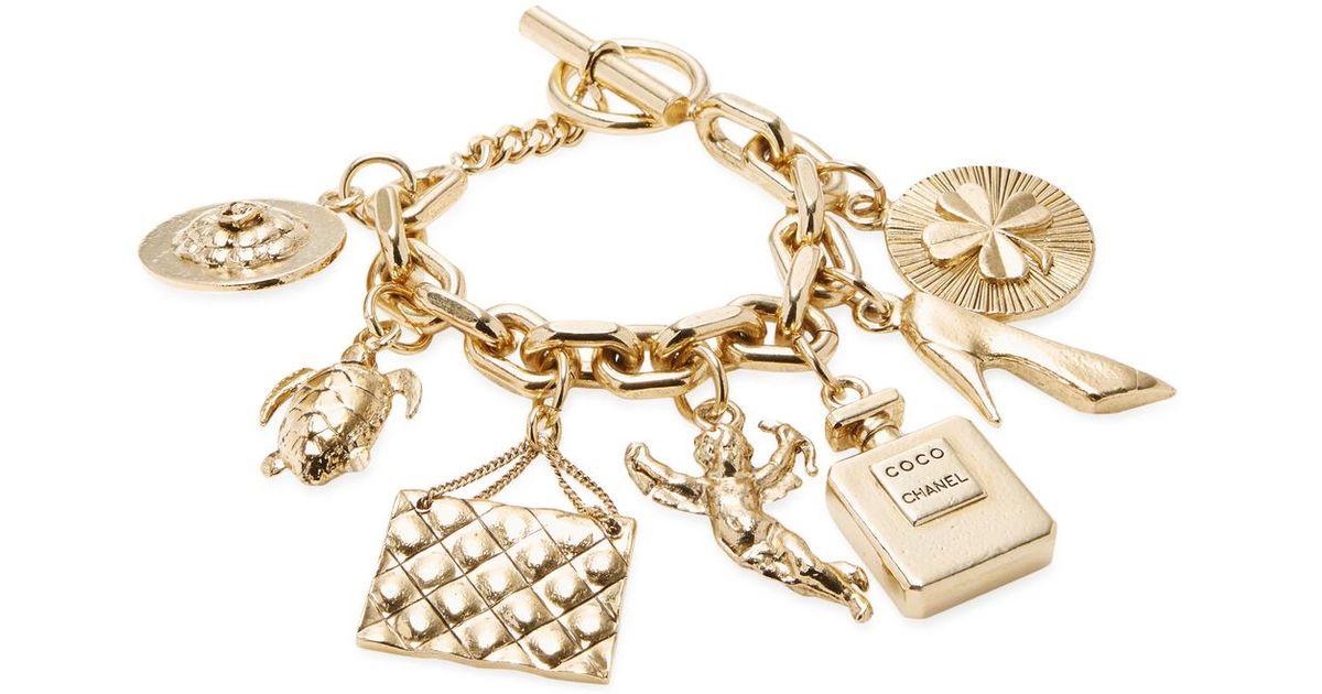 1d957accfb95f Chanel Charm Bracelet - Bracelet Photos Onneyuonsen.Com
