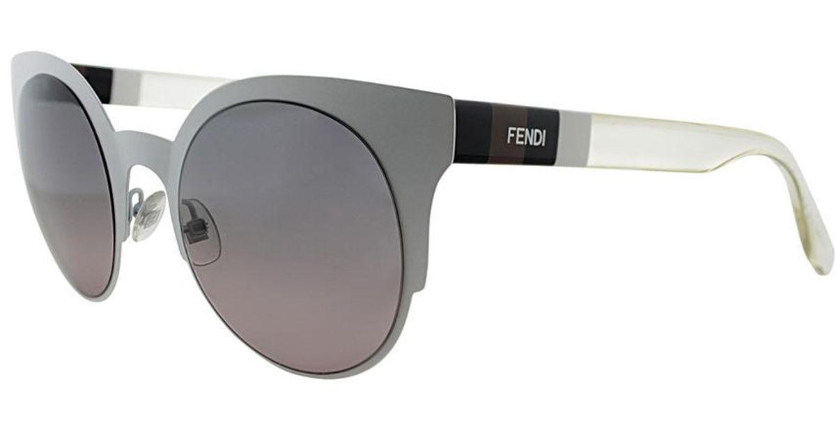 cc59d1d4af10 Lyst - Fendi Women s Ff0080s 50mm Sunglasses