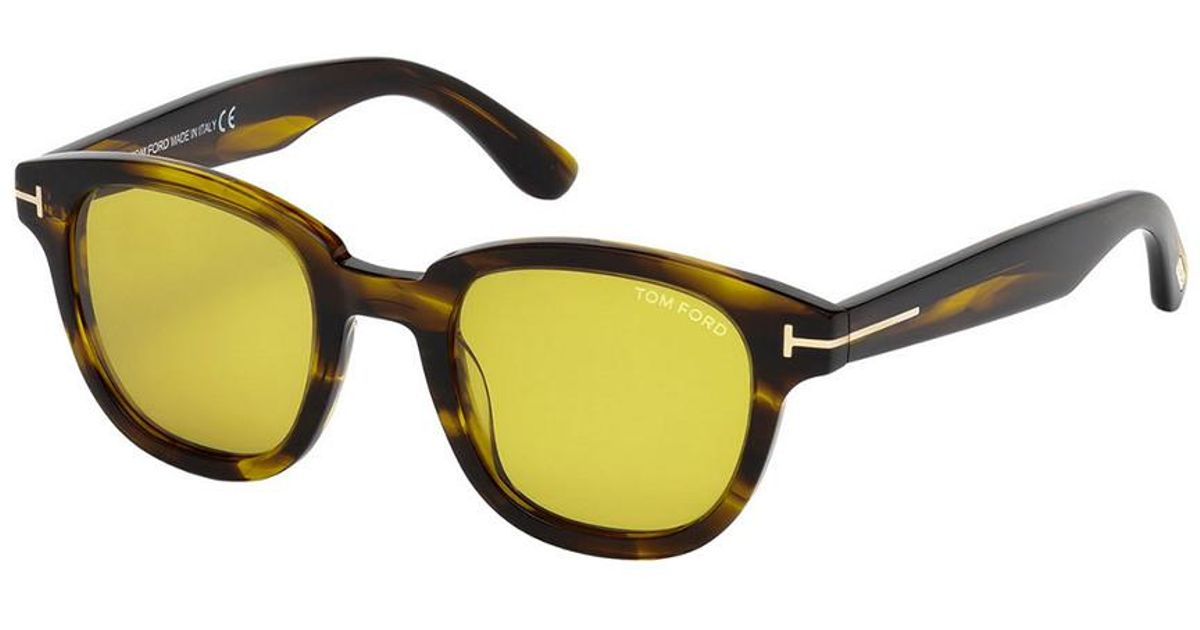 d0711a2f7e Lyst - Tom Ford Garett 49mm Sunglasses for Men - Save 22%