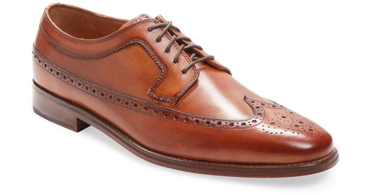 569fb5697e5 Lyst - Cole Haan Giraldo Ii Derby Shoe in Brown for Men