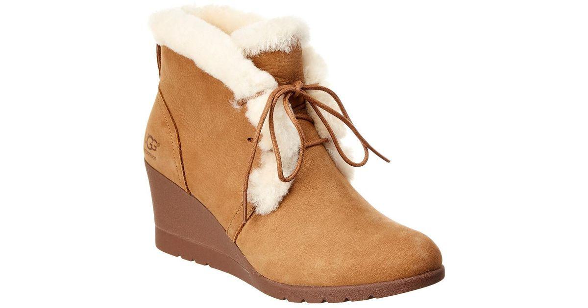 8c94f895f1b Ugg Brown Women's Jeovana Waterproof Suede Boot