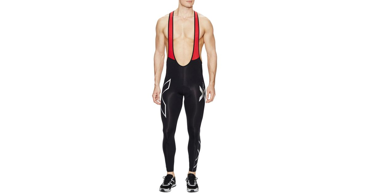 d86a98577a 2XU Compression Cycle Bib Tights in Black for Men - Lyst