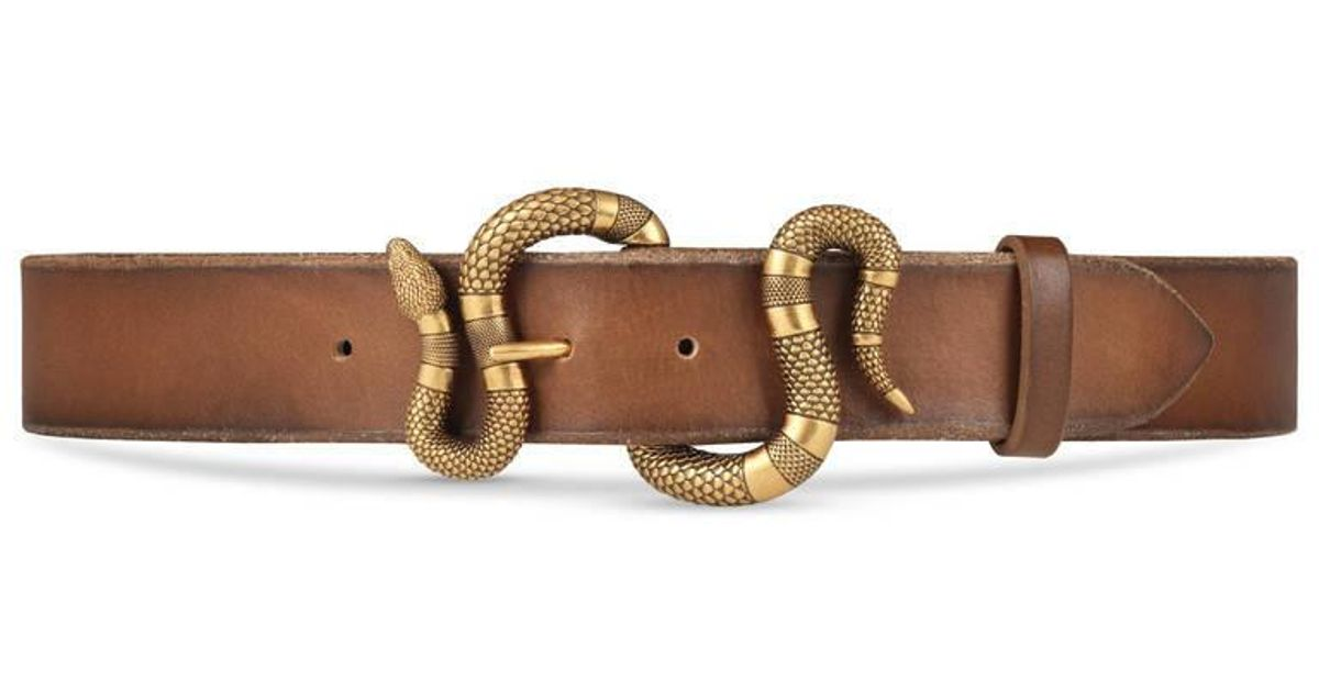 Leather Rope Belt Brown and Tan Leather Decorative Blind Trim