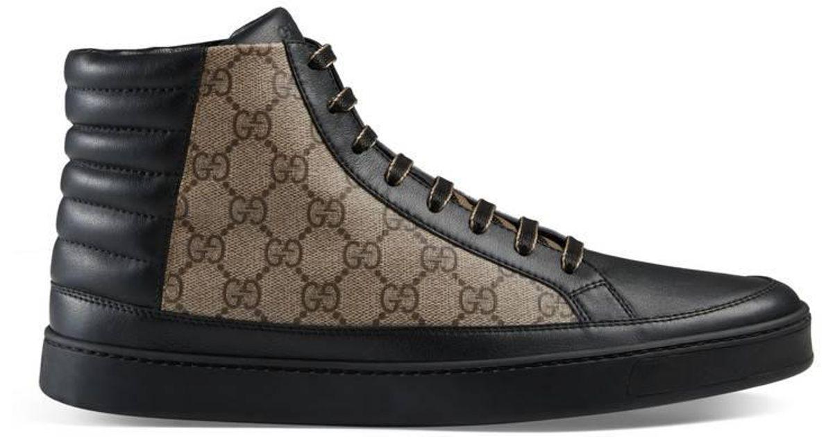Gucci Canvas GG Supreme High-top