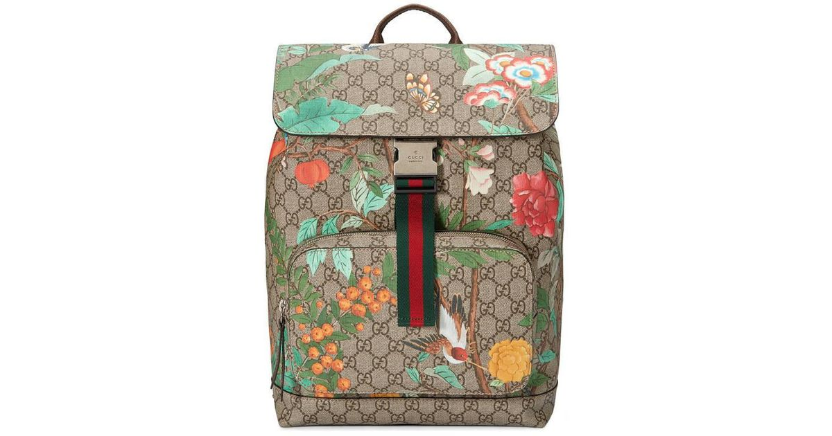 d30fe3321c2 Lyst - Gucci Tian Gg Supreme Backpack