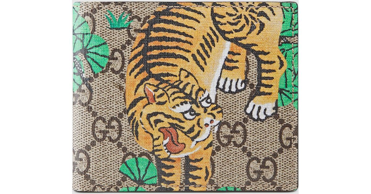 c252bcc874d0 Gucci Bengal Wallet for Men - Lyst