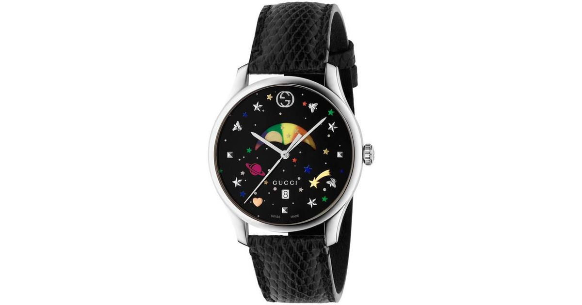 a571c0cfedb Lyst - Gucci G-timeless Moonphase