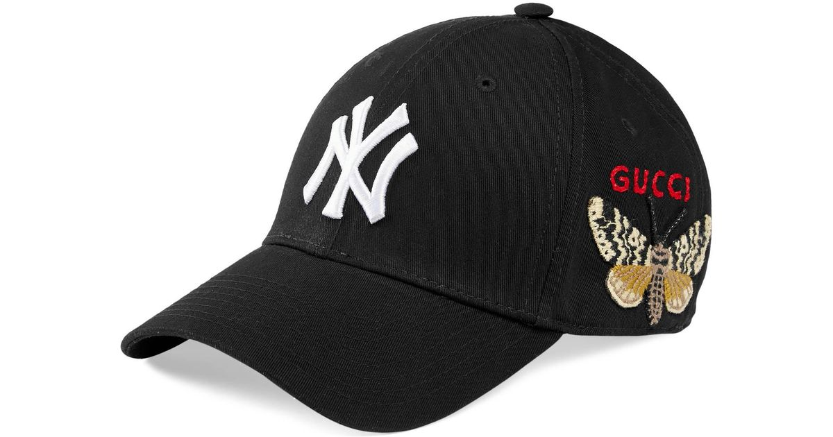 Gucci Baseball Cap With Ny Yankeestm Patch in Black for Men - Save 10% -  Lyst 61f730e1ddf