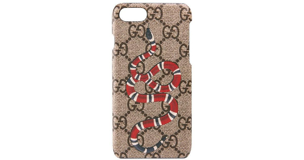 b8dcd2377fbf3 Gucci Multicolor Snake Print Iphone 7 Case