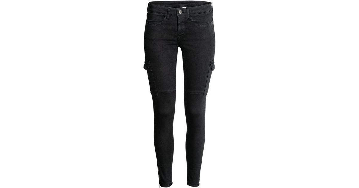 Original Glittery Pants  Black  Women  HampM US