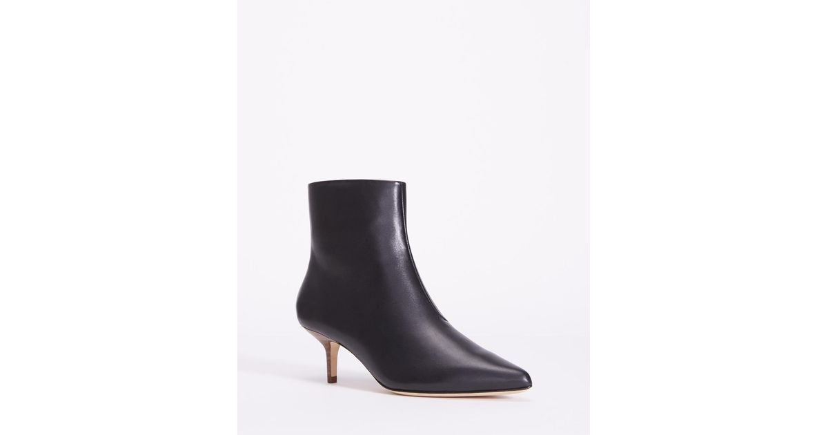 Halston Heritage Women's Faith Nubuck Leather Kitten Heel Booties Buy Cheap Order Sale Online Shopping Shopping Online With Mastercard Outlet Really Popular Cheap Price NNkAAYac6F