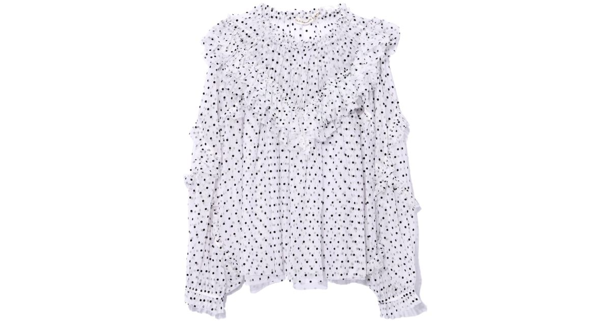2d9a4e0cfd2 Lyst - Ulla Johnson Dita Blouse In Blanc