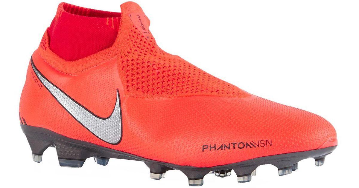 sale retailer 86ae8 d2543 Nike Red Phantom Vision Elite Football Boots for men