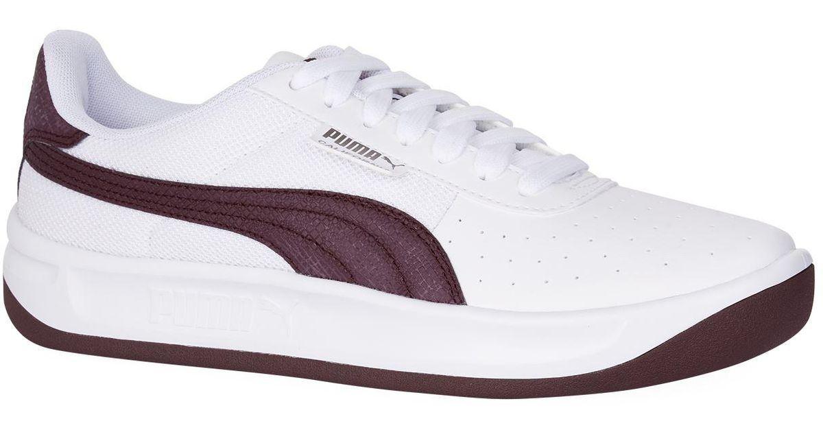 California Scratch Sneakers in White
