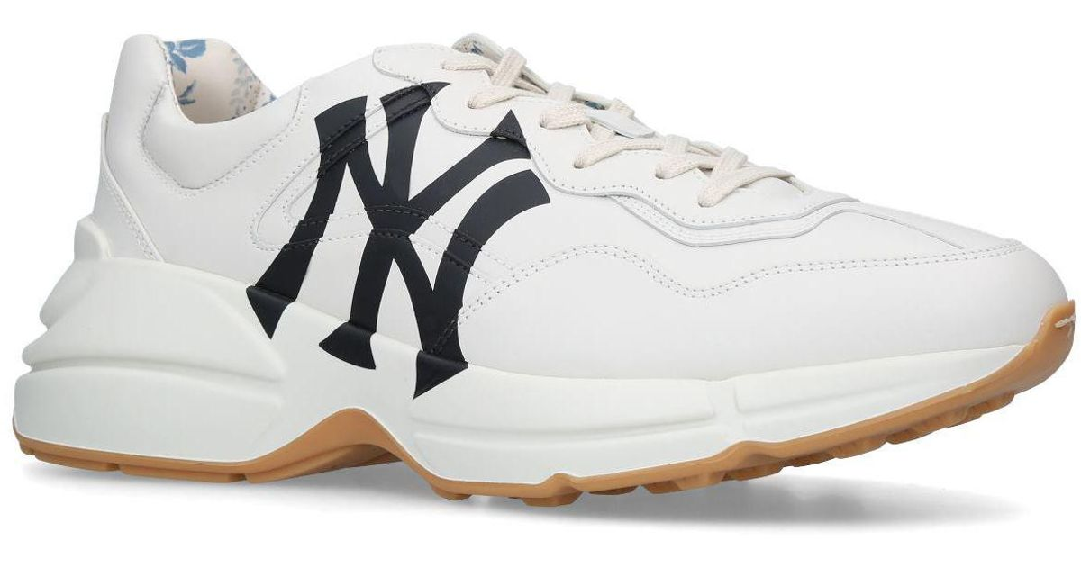 Gucci Rhyton Ny Yankee Sneakers in