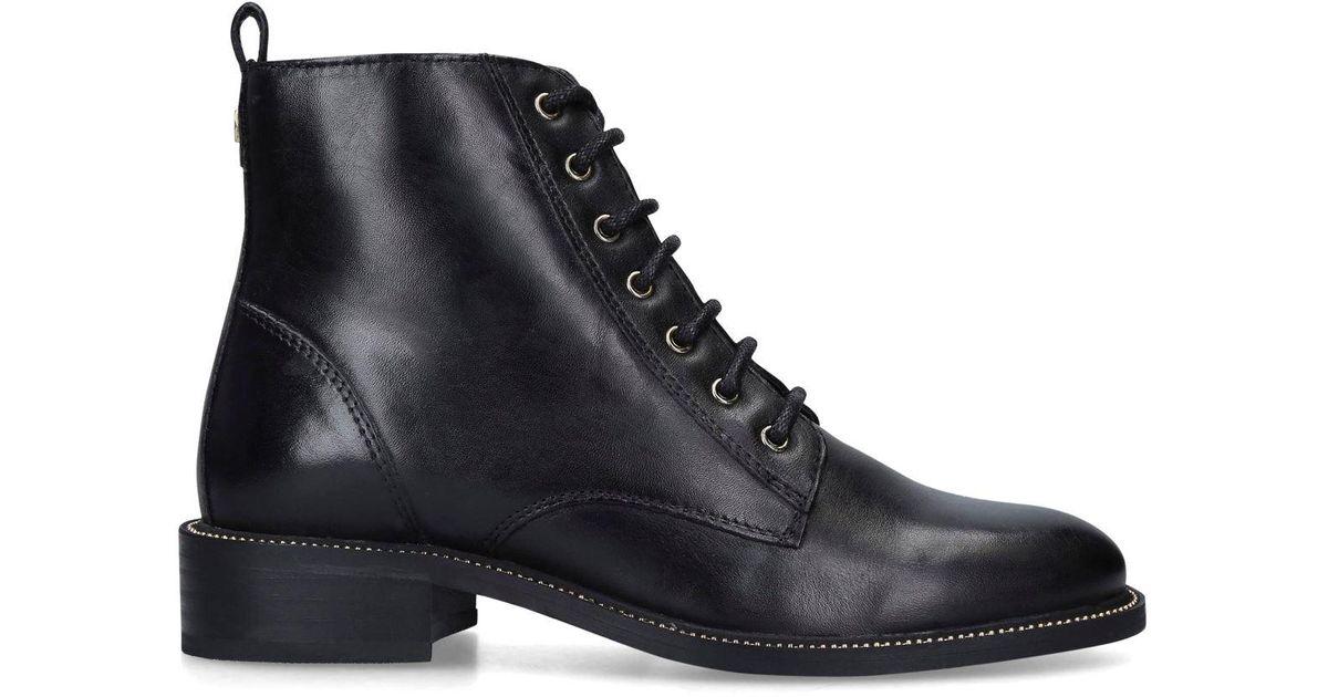 Carvela Kurt Geiger Leather Spike Boots