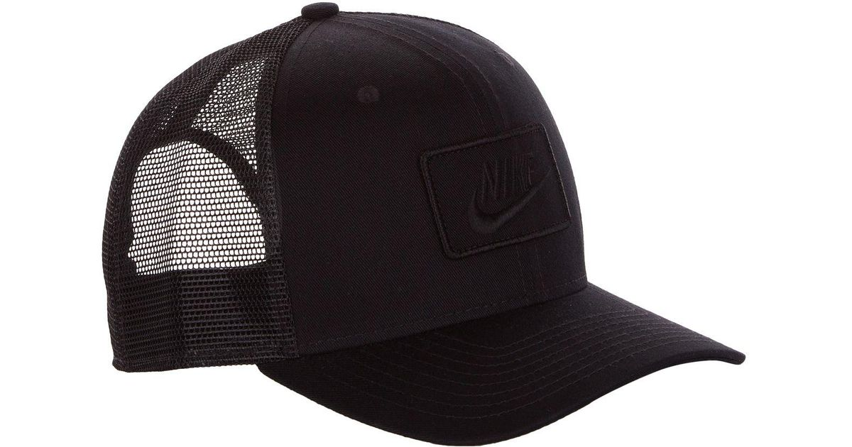 differently authentic amazing price Nike Black Clc99 Trucker Hat for men