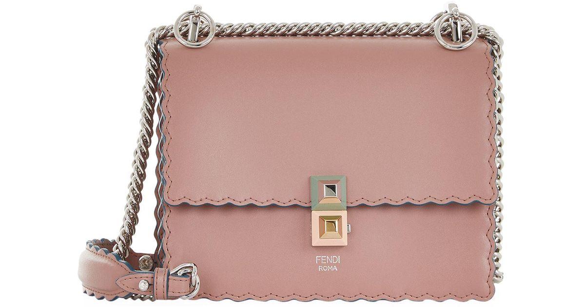 1798abdef9 Lyst - Fendi Kan I Mini-bag in Pink