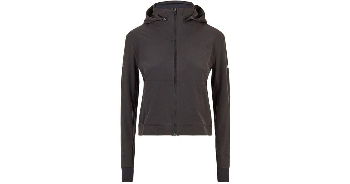 ae10b2aa45c891 Nike Swift Running Jacket in Black - Lyst