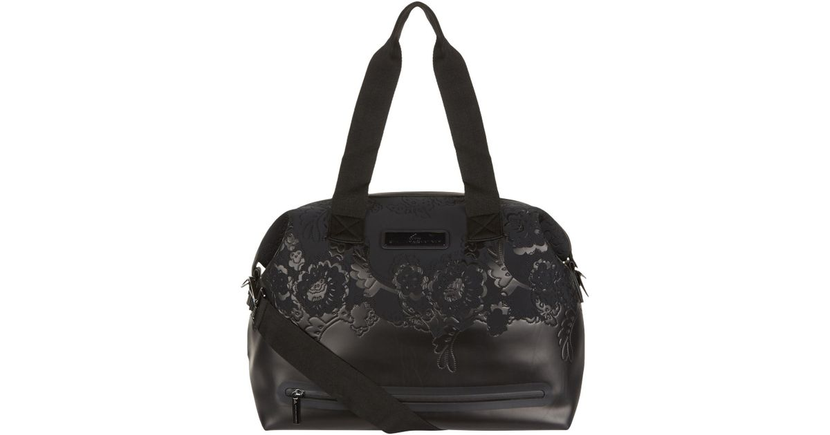 555feaeaeda0 adidas By Stella McCartney Medium Studio Bag in Black - Lyst