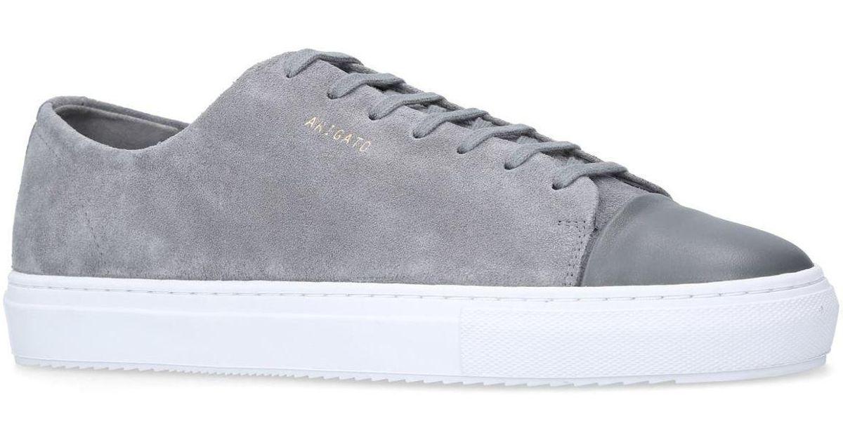 Axel Arigato Suede Cap-toe Sneakers in