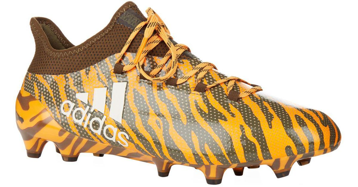 classic shoes super cheap cost charm Adidas Orange Tiger X 17.1 Firm Ground Football Boots for men