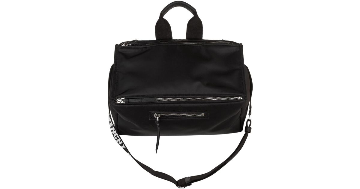 Lyst - Givenchy Pandora Nylon Messenger Bag in Black for Men b9e9f7108c43a