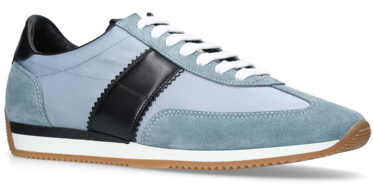 Tom Ford Leather Orford Runner Sneakers