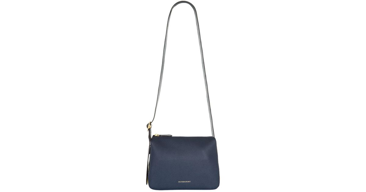 Burberry Small Helmsley Shoulder Bag in Blue - Lyst e323a89e15