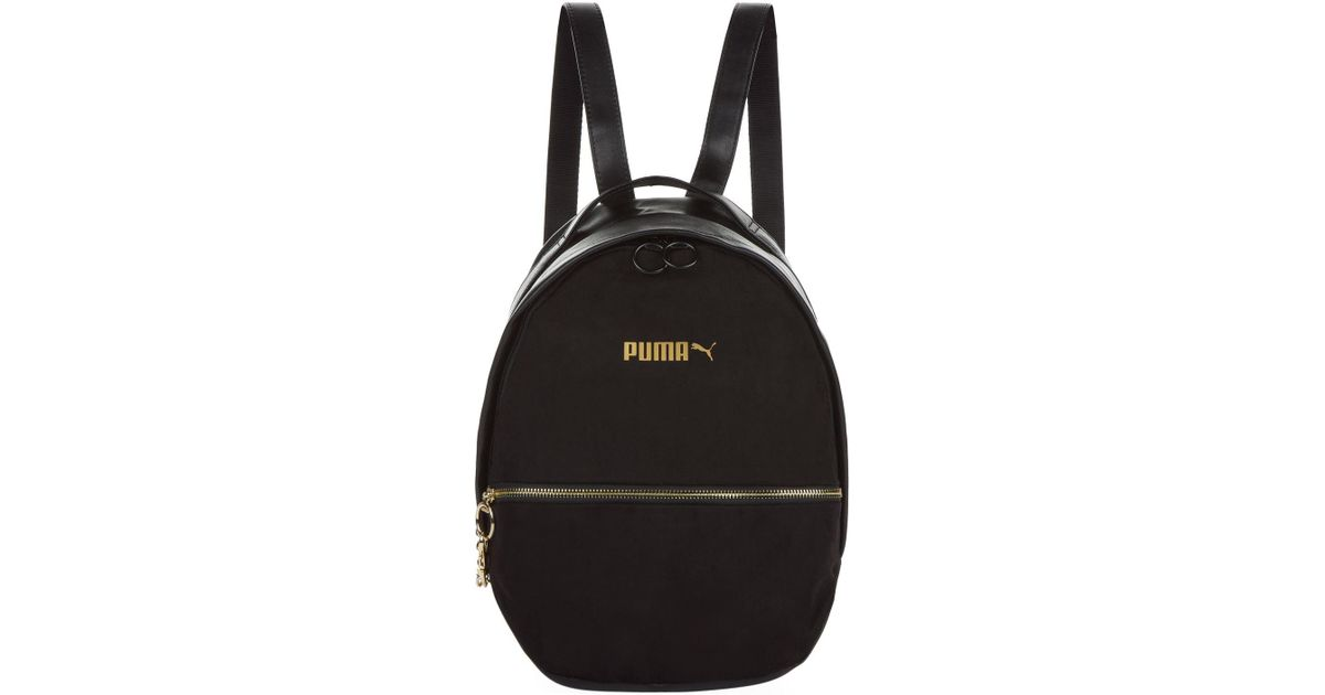wholesale dealer 83b10 780ff PUMA Black Archive Suede Backpack